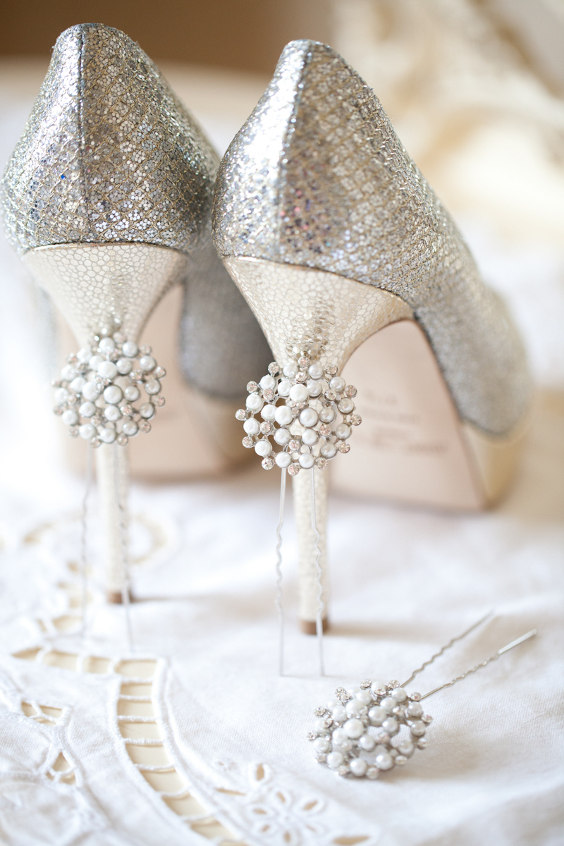 sophisticated elegance at claridges jimmy choo wedding shoes A sophisticated modern wedding at Claridges in London with Jenny Packham Esme and a Yolan Cris dress dusky pink bridesmaid dresses and Jimmy Choo shoes