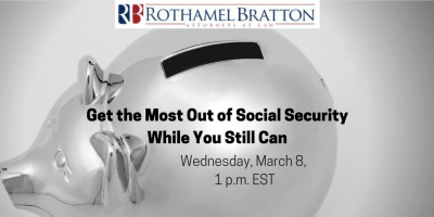 Get the Most Out of Social Security While You Still Can - Changes for 2017