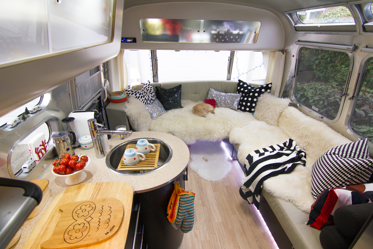 10 kick ass rv interior design renovations rv kitchen cabinets Photo Blog RVShare com
