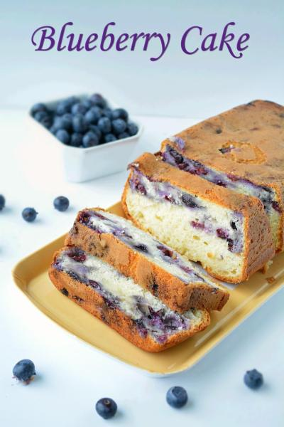 Blueberry Cake Recipe
