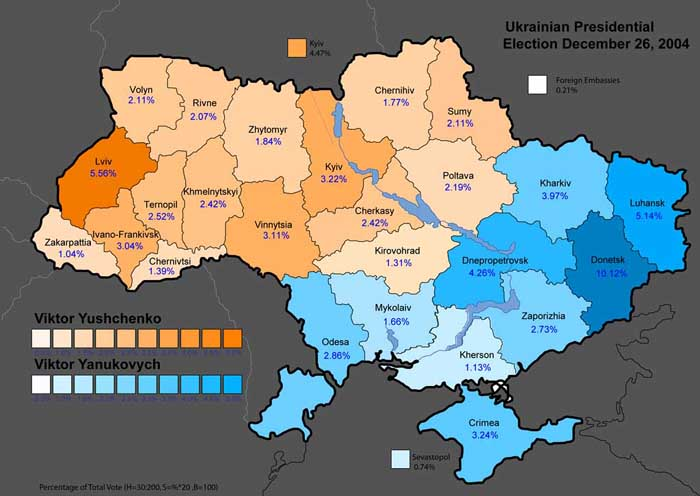 Russian World Forums     View topic   Ukraine  as viewed from Moscow On the map you see the  Ukrainian  and  Russian  parts of Ukraine