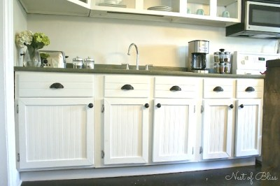 Budget Cabinet Makeover - Sand and Sisal