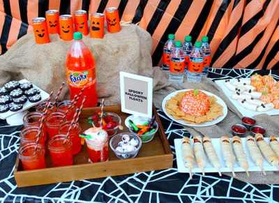 Halloween Party Ideas: Appetizers, Dinner and Desserts | Printable - Popsicle Blog