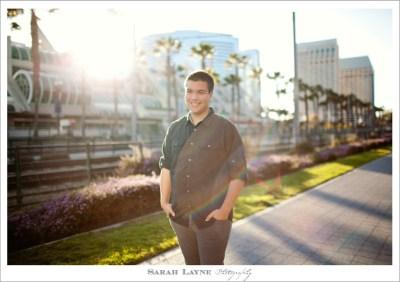 Tanner's Downtown San Diego Senior Portraits - Sarah Layne ...