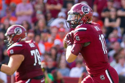 McIlwain pushing Orth for Gamecocks' starting QB job