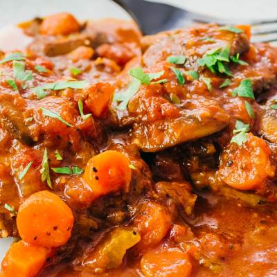 Instant Pot Swiss Steak - Savory Tooth