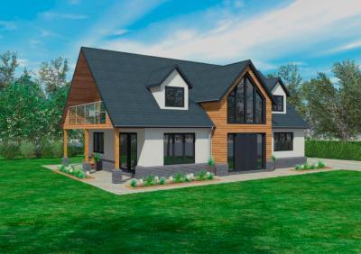 The Cranbrook | Timber Framed Home Designs | Scandia-Hus