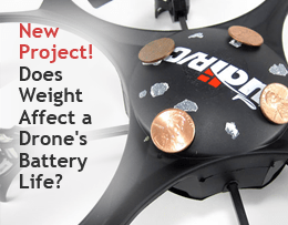 Does Weight Affect a Drone_s Battery Life_ STEM Project