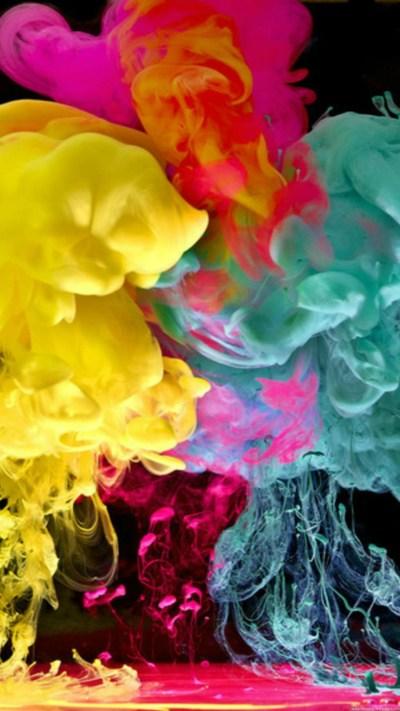 Cool Colorful Smoke Wallpaper - [1440x2560]