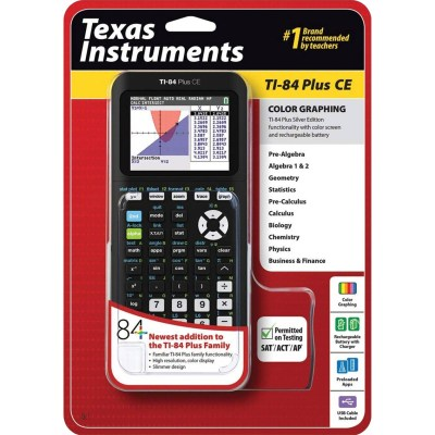 Texas Instruments Ti-84 Plus Ce Graphing Calculator | Tools & Equipment | More | Shop The Exchange