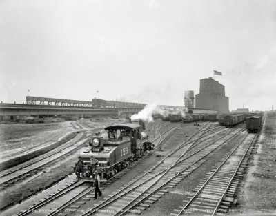 Stuyvesant Dock Terminal: 1900 | Shorpy Old Photos | Vintage Photography