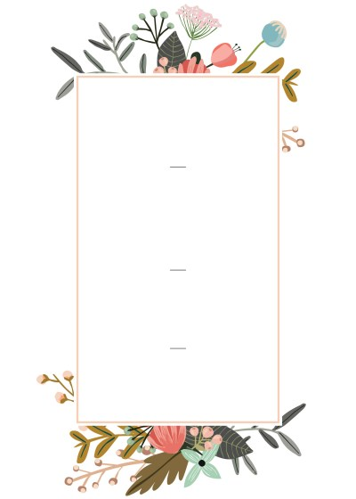 Editable Wedding Invitation Templates for the Perfect Card ...
