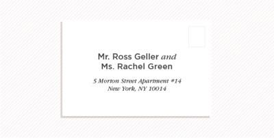 How to Address Wedding Invitations | Shutterfly