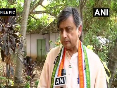 Shashi Tharoor moves EC against BJP