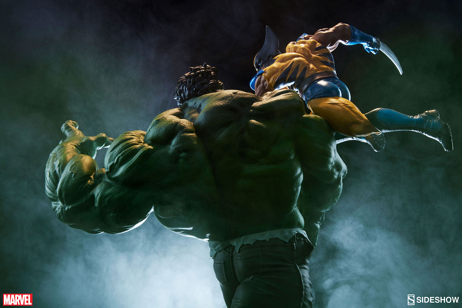 Marvel Hulk and Wolverine Maquette by Sideshow Collectibles     Hulk and Wolverine Maquette Hulk and Wolverine Maquette