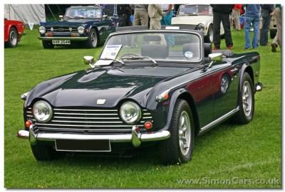 Simon Cars - Triumph TR5