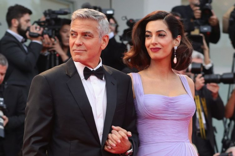 How George Clooney Met Wife Amal Alamuddin   Simplemost Suburbicon Premiere   74th Venice Film Festival