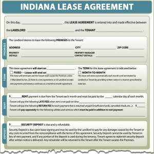 Indiana Lease Agreement