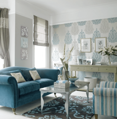 Wallpaper Accent Wall: Love This Look?   Six Different Ways