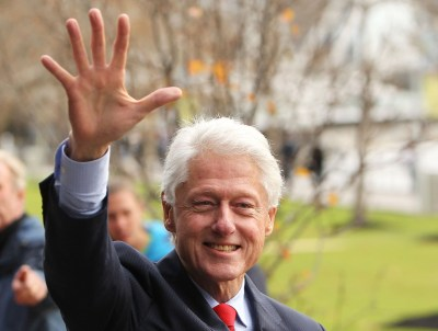 Bill Clinton is still the most influential politician in the US.