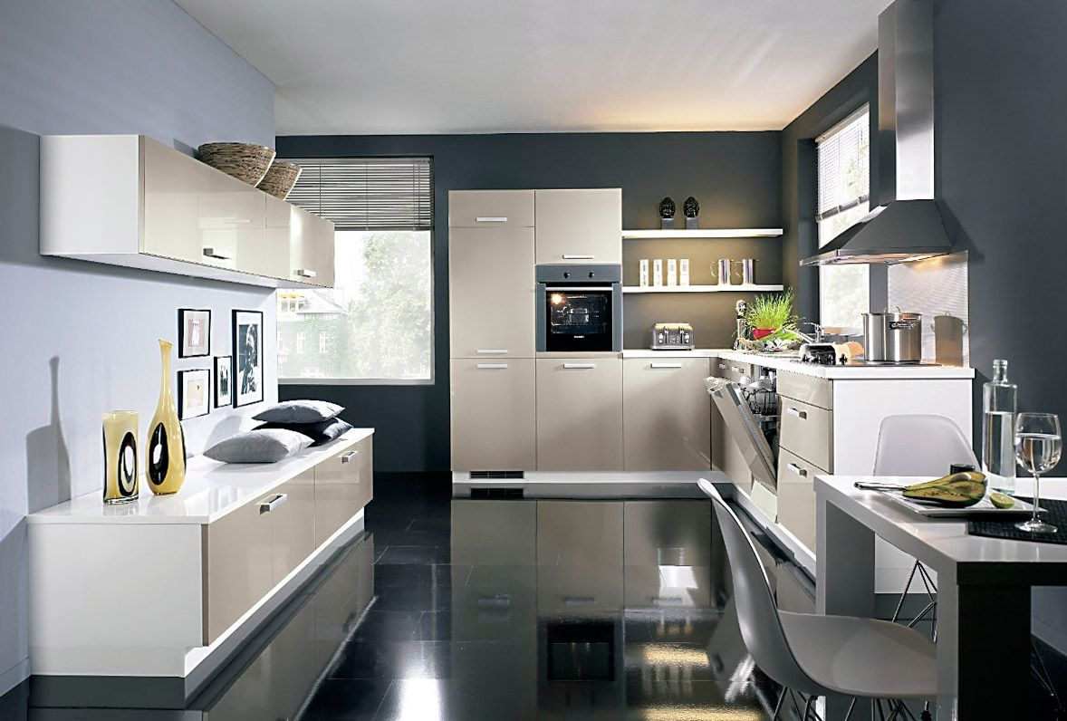modern kitchens glossy cabinets refacing kitchen cabinet refacing Modern Kitchens Glossy Cabinets Refacing Glance film of the kitchen cabinet cladding is almost impossible