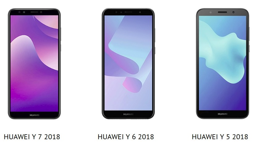 Huawei Y5 (2018), Y6 (2018) & Y7 (2018) vorgestellt