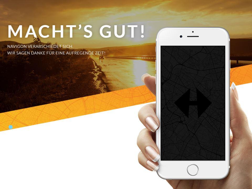 Aus für Navigon: Navi-Apps werden aus dem App Store entfernt