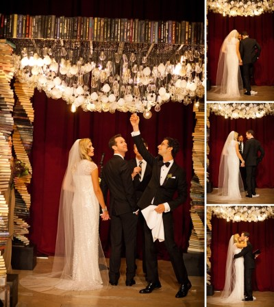 Jessie & Craig | Spectacular book-themed Jewish wedding at ...