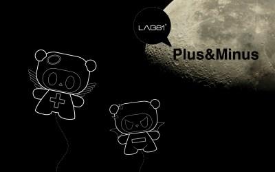 Plus&Minus by LAB81 - Desktop Wallpaper