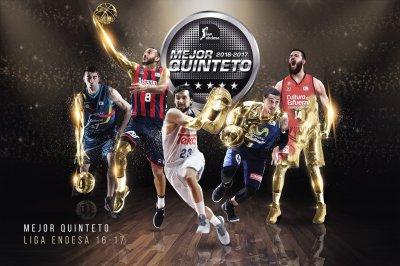 Mejores Quintetos Liga Endesa 2016/2017