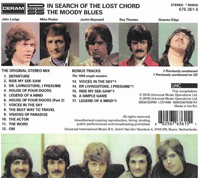 Remaster Class: Moody Blues: In Search of the Lost Chord | Sound & Vision