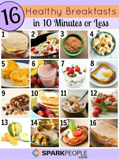 Quick and Healthy Breakfast Ideas | SparkPeople