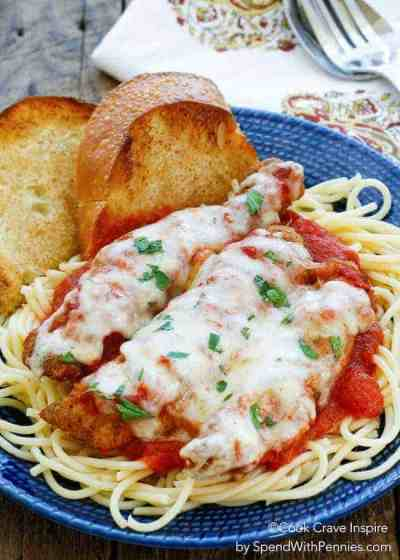 Easy Chicken Parmesan - Spend With Pennies