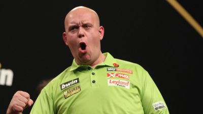 Grand Slam of Darts day two: MVG beats Rob Cross in epic as Phil Taylor survives a scare ...