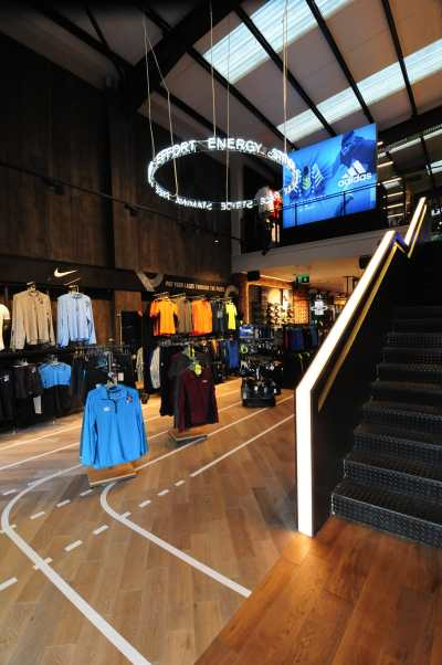 Lifestyle Sports Galway - Store Design