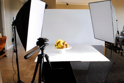 How to photograph food in artificial light and keep it warm