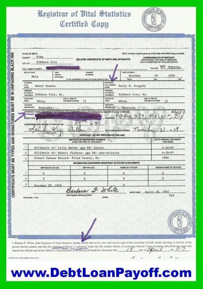 Your Birth Certificate Bond Is Worth Billions | Strawman Money Credit