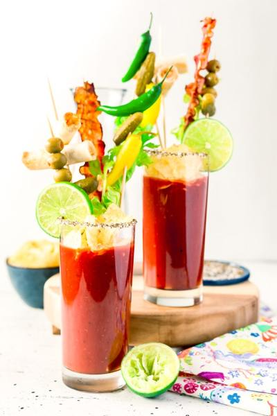 Best Ever Bloody Mary Cocktail Recipe | Sugar & Soul