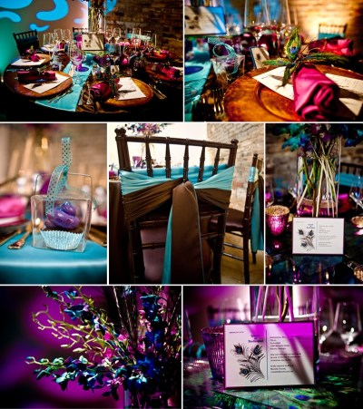 Sugar And Spice Events :: Peacock Wedding Theme