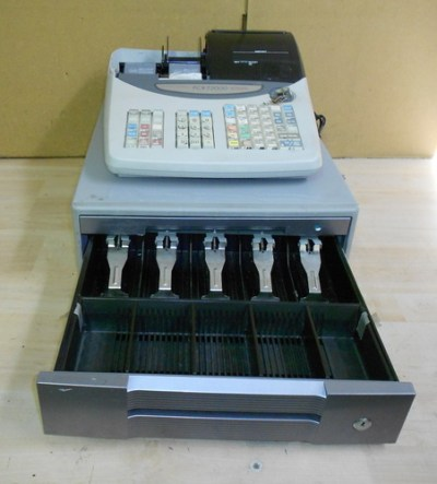 Casio PCR-T2000 POS Electronic Cash Register w/Cash Drawer/Key WORKING FREE SHIP | eBay