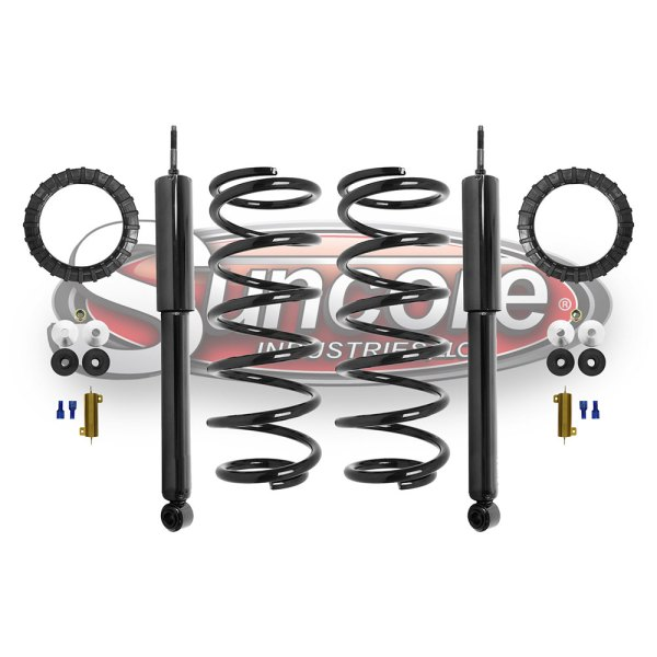 Suncore Industries   Air Suspension Air to Coil Spring Conversion     Air Suspension Air to Coil Spring Conversion Kit with Gas Shocks Rear Pairs    Lexus   Toyota