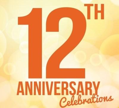 12th Anniversary Cashback Celebration! – Sunwithmoon