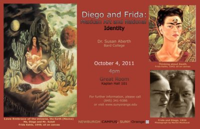 Diego and Frida: Mexican Art and National Identity, SUNY Orange GRAPEVINE