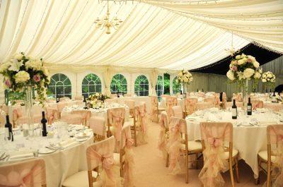Wedding Marquee Interior Ideas   Weddings in Sussex ...