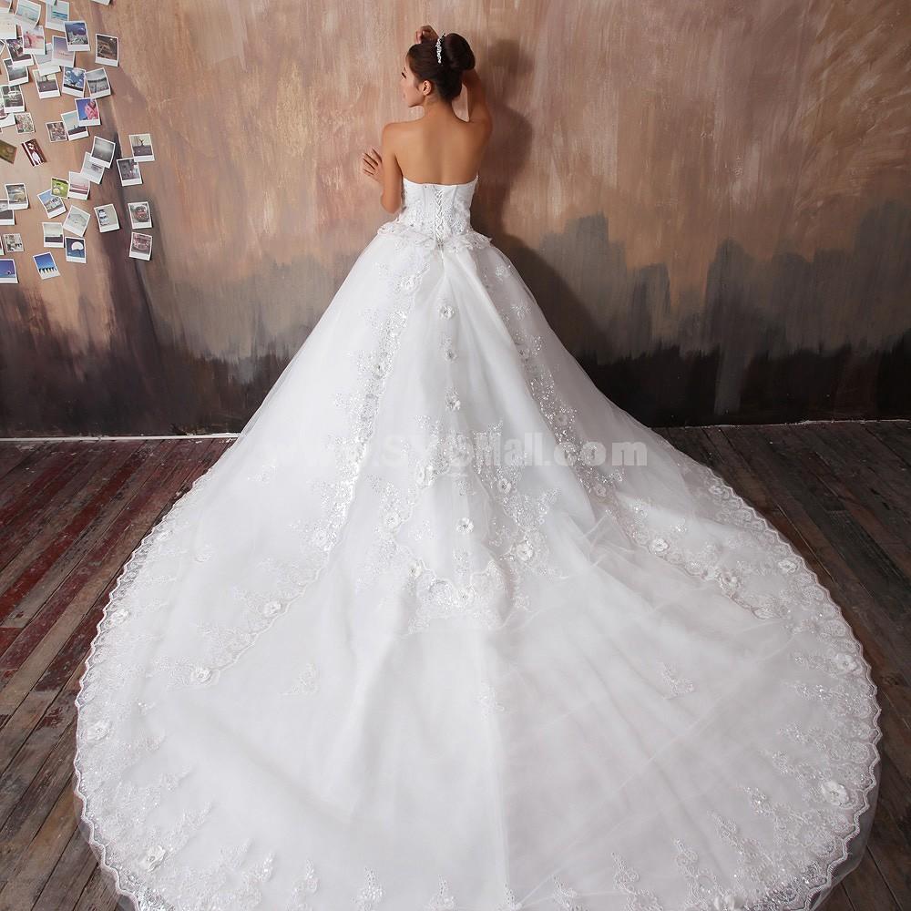 sweep train mermaid lace wedding dress train wedding dress straight across sweep train mermaid lace wedding dress 1