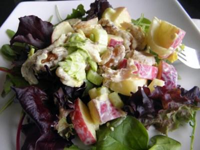 Curried Chicken Waldorf Salad - taste love and nourish