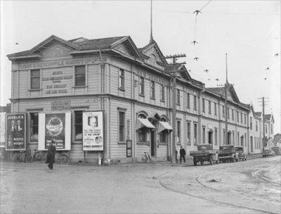 New Zealand Loan & Mercantile Agency Co. building, 1930s – Whanganui region – Te Ara ...
