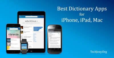 10 Best Dictionary App for Mac, iPhone and iPad in 2019 | TechJeny
