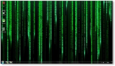 The Matrix Windows 7 Theme and Wallpapers [Movie Themes]