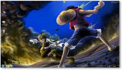 One Piece Theme For Windows 7 and 8 [Anime Themes]